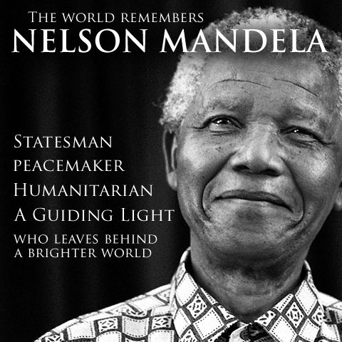 Nelson Mandela RIP: The world loses a great moral leader. As well as a great communist!
