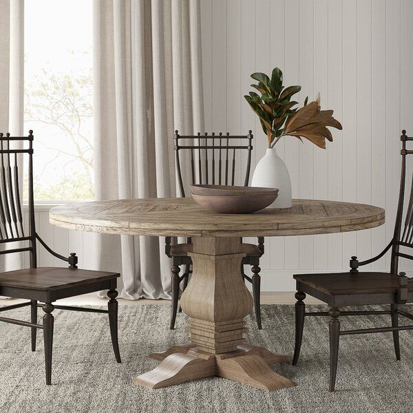 The Stout And Shapely Pedestal And Base Design Are Sure To Make An