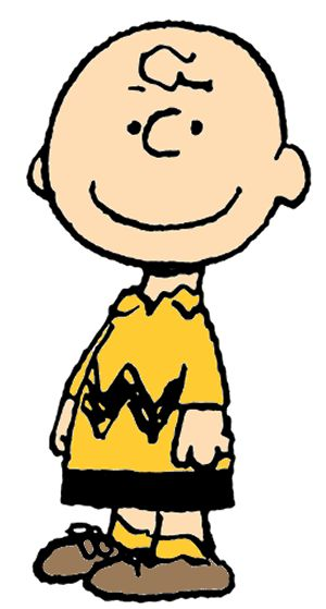 """Charlie Brown - the main character in the Peanuts comic strip.  A lovable loser, possessed of endless determination and hope, but ultimately dominated by his insecurities and """"permanent case of bad luck."""""""