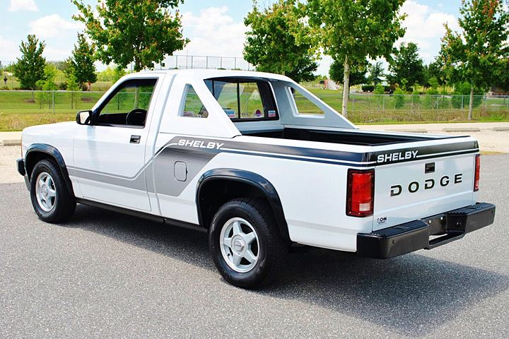 Who knew? 1989 Dodge Shelby Dakota with 270 ft. - lbs. of torque!