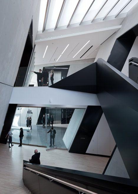 Eli and Edythe Broad Art Museum, Michigan State University /  Zaha Hadid Architects