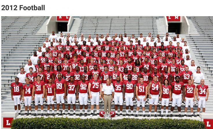 2012 Alabama Football team picture. National Champions  #Alabama #RollTide #Bama #BuiltByBama #RTR #CrimsonTide #RammerJammer #NationalChampions