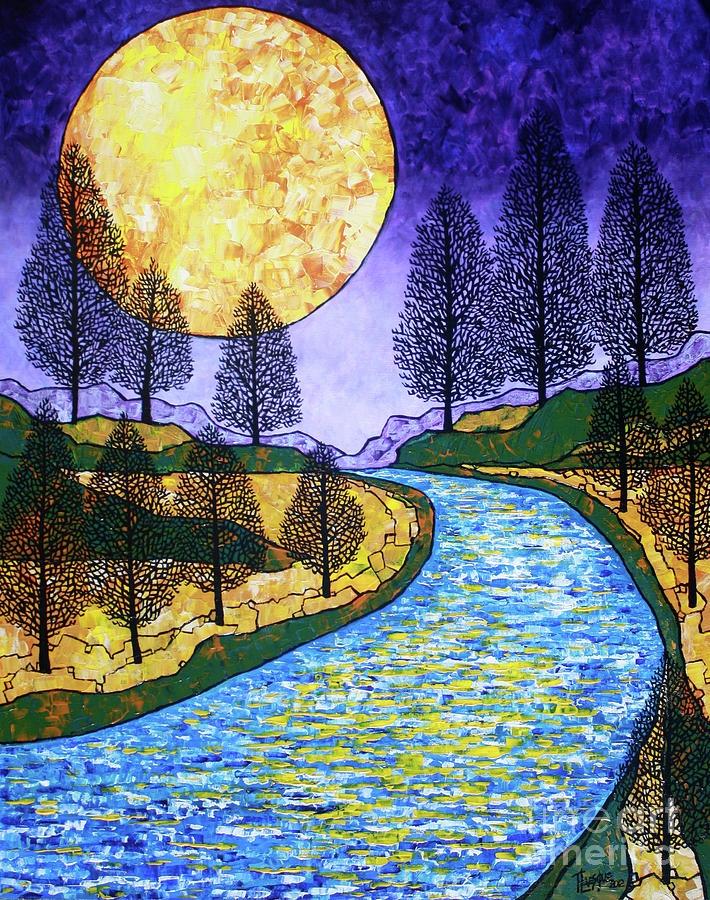 Kết quả hình ảnh cho river artwork