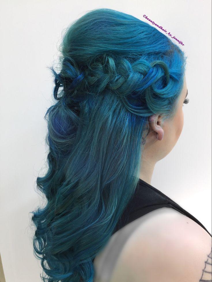 Mermaid fun with braids and waves