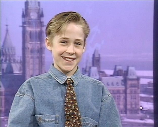 "Young Ryan Gosling Being Interviewed on ""Canada AM"" Is Adorable.....AAAAAHHHHH"