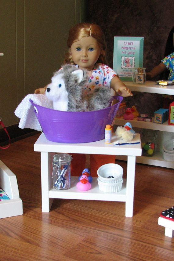 American Girl Doll Pampered Pet Shop SetPet by MadiGraceDesigns