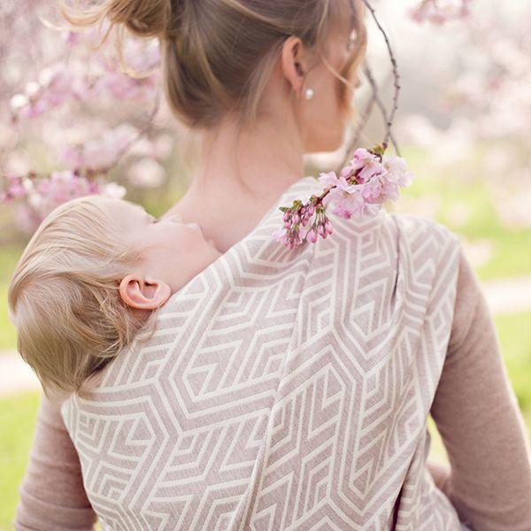 Woven wings Blossom Geo - cotton/merino wool <3!