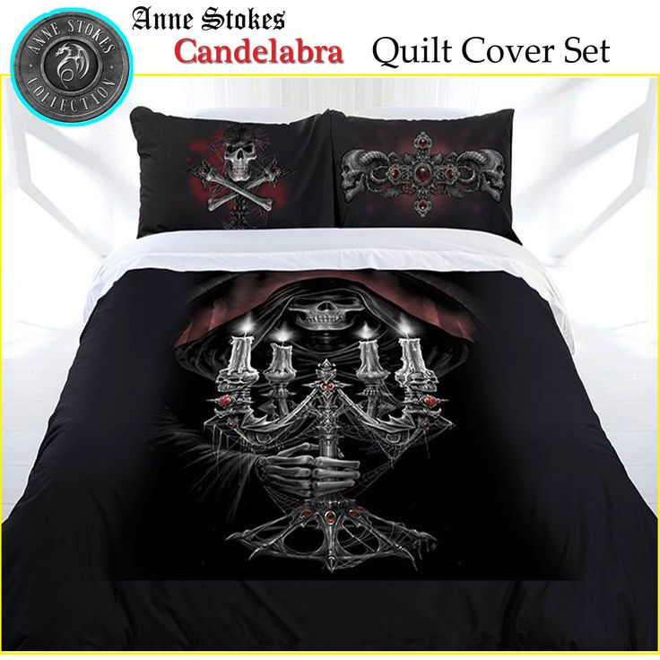 Candelabra Quilt Cover Set by Anne Stokes