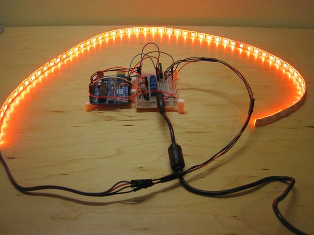 Testing Your Circuit, Code, and LED Strip