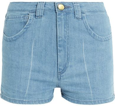 Topshop Unique - Holyport Denim Shorts - Light denim