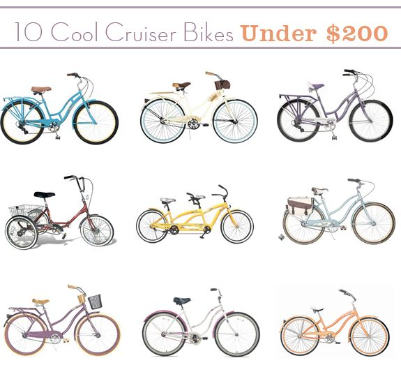 Cheap, Cute Bikes