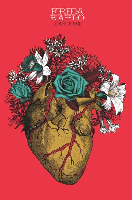 Homenaje a Frida Kahlo por Eréndida Mancilla.