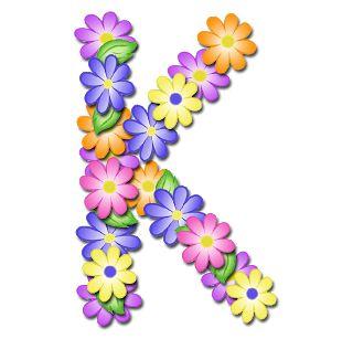 GRANNY ENCHANTED'S BLOG: Free Pastel Floral Digi Scrapbook Alphabet