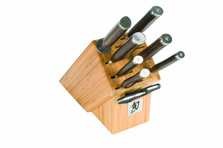 Amazon.com: Shun TDMS0900 Premier 9-Piece Gourmet Block Knife Set: Kitchen & Dining