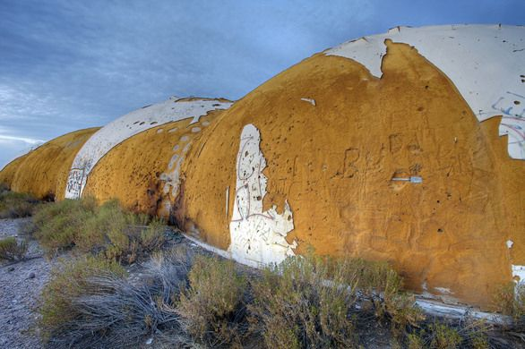 The Domes  CASA GRANDE, ARIZONA  An abandoned facility that has become a place of ritualistic satanic worship, or so rumor has it.