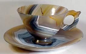 agate cup and saucer