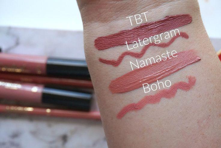 Tarte cosmetic sephora and australia on pinterest for Tarte lip paint namaste