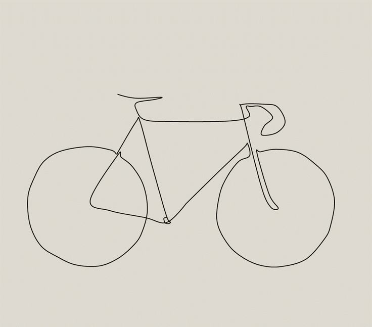 Picasso Inspired Bike Drawing - The Paceline Forum