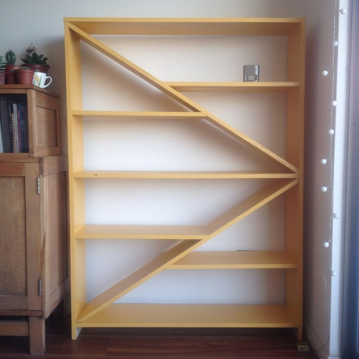 """Pinterest inspirations"" bookshelf by @juanjoseyunis"