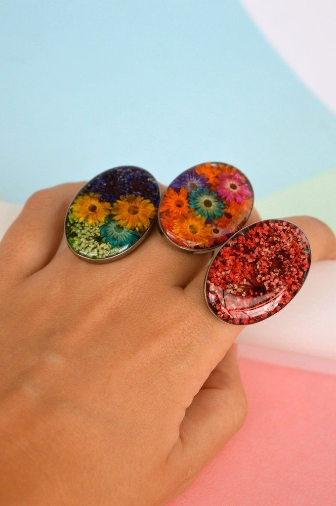 Ring-Oval-Floresse
