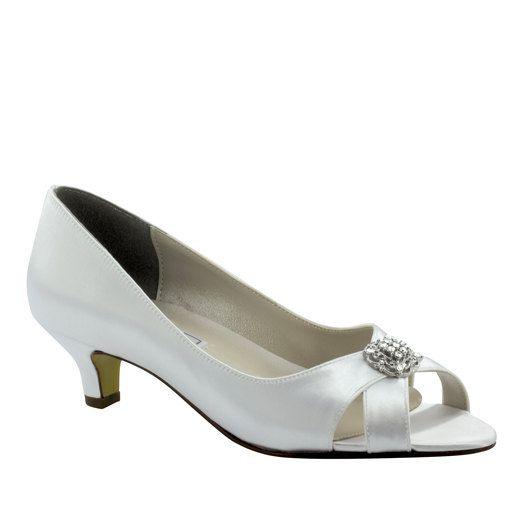 Wedding Shoes Low Heel -- 1.75 Inch Heel Shoes