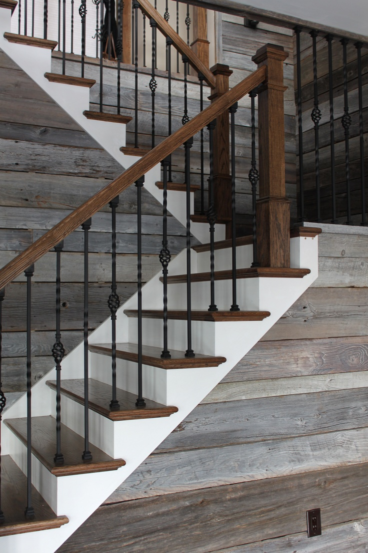 Best Barn Wood Steps Rustic Staircase Rustic Stairs Stairs 400 x 300