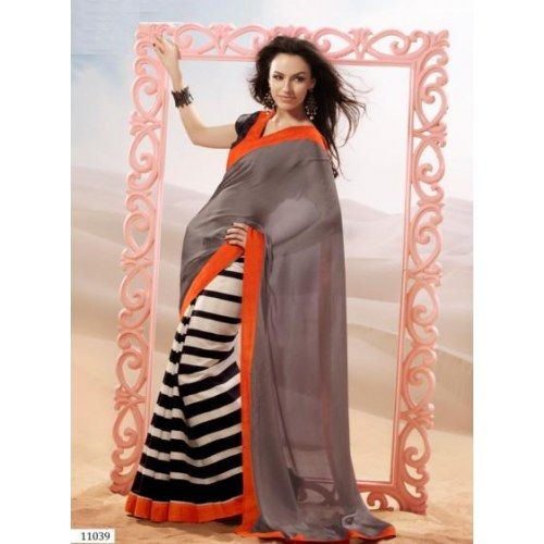 Designer Indian  Beautiful Printed Sarees   - Online Shopping for Sarees  by Ethnictrend