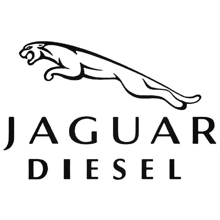 Jaguar Diesel Decal Sticker  BallzBeatz . com