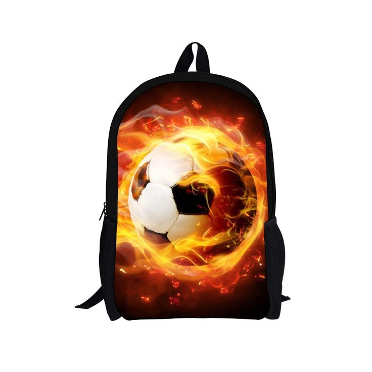 3D Football Printed School Backpack //Price: $49.98 & FREE Shipping // #handbag #awesome #bagsdesigns