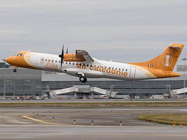 Premier ATR 72-600 pour Air Calédonie (photos)