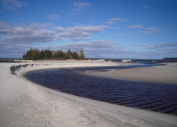 Another great photo of Carter's Beach, Queens County - one of my top 10 beaches in Nova Scotia.