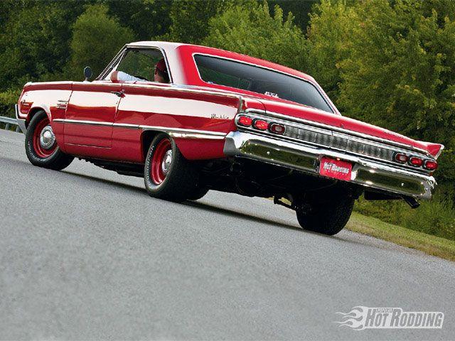Mercury Marauder Rear Driver Side. 1964 (murdered out)