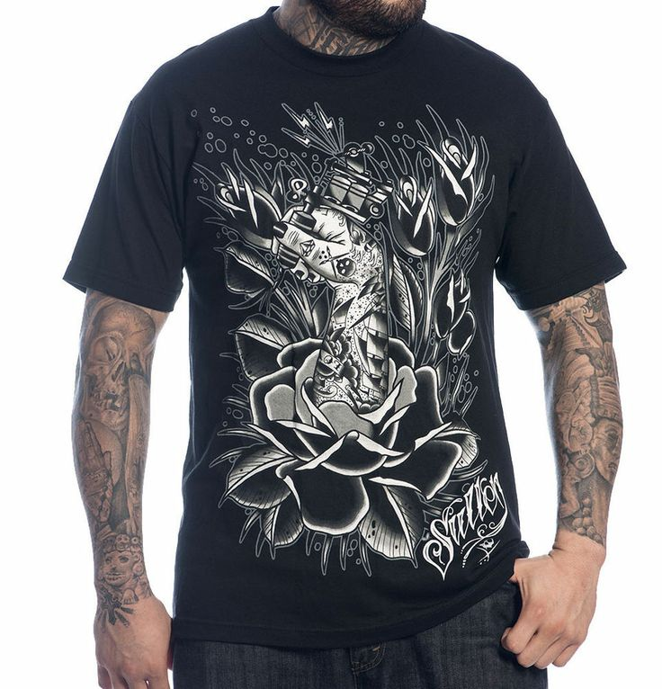 Sullen art collective clothing ink grown tee t shirt for Screen print tee shirts cheap