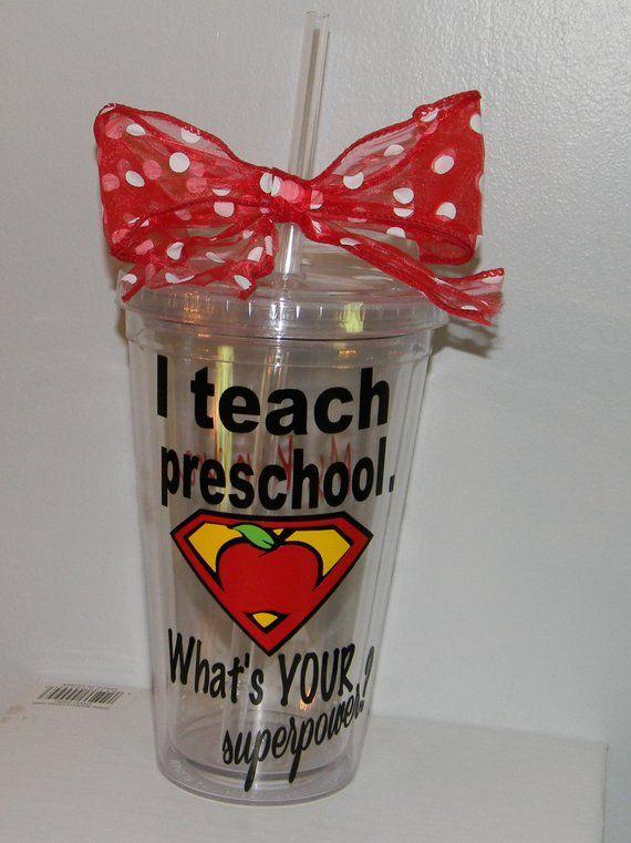 Preschool Teacher Gift Preschool Teacher Cup Teacher - Preschool Teacher Gift - Preschool Teacher Cup - Teacher