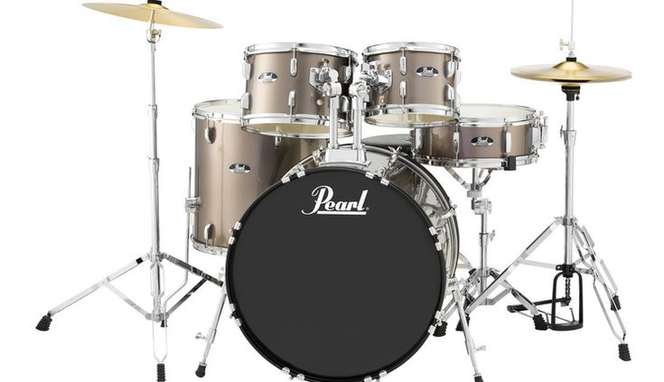 Pearl Roadshow RS525SC Bronze Metallic.   Pilihan terbaik untuk bermain drum     Perlengkapan yang tepat merupakan hal penting yang ada dalam sebuah drum set.  Tidak seperti sebuah mainan; baru, dalam paket drum lengkap dengan segala sesuatu yang Anda butuhkan untuk mulai bermain drum.