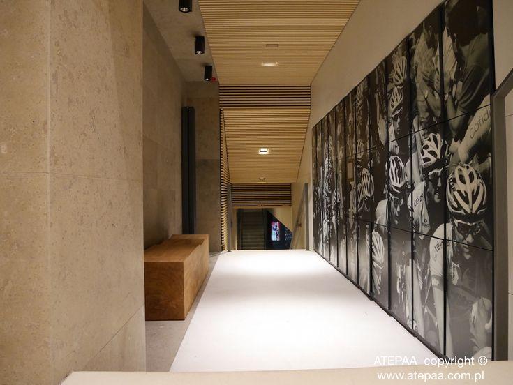 ATEPAA lockers with photo design I modern office interior