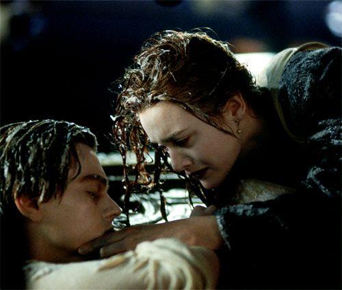"""Rose: """"Jack. Jack, wake up. Jack?"""" Titanic"""