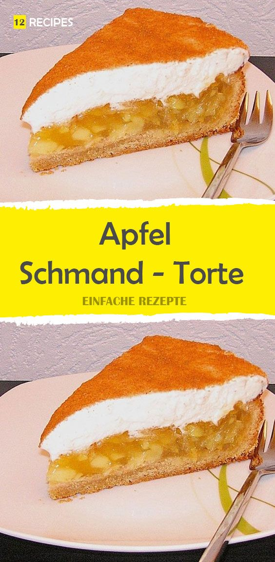 Apfel – Schmand – Torte