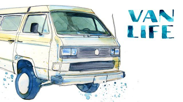 A paper cut-out, stop motion animation made up of over 300 water color drawings. Loosely based on a true story about Vanagon ownership.