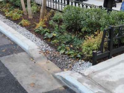 Cute PONTUS green infrastructure stormwater management solutions