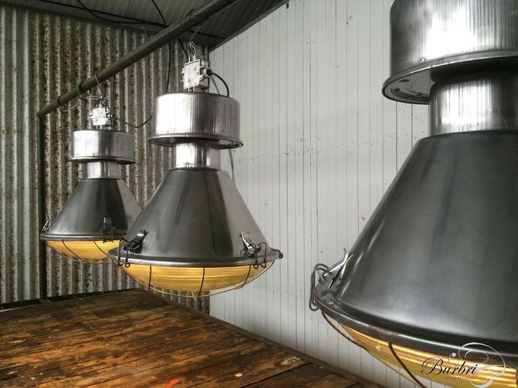 More Old Factory lamp  Pendant light - Industriële hang lampen  - Industriële Verlichting - Burbri