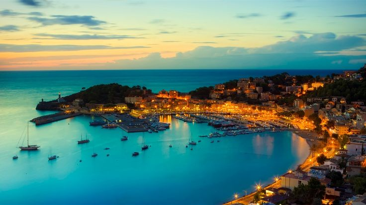 Port de Soller, Mallorca, Spain: Places To Visit, East Coast, Port, Favorite Places, Mediterranean Sea, De Soller, Beautiful Places, Mallorca Spain, Balear Islands