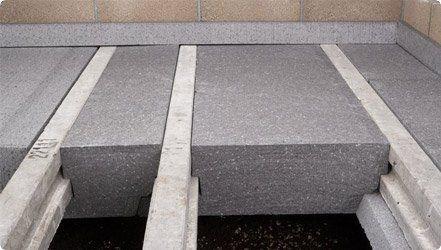 Panel aislante rígido de poliestireno expandido para cimentaciones BEAMSHIELD  Springvale