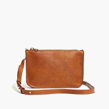The kind of take-everywhere-stash-everything leather crossbody you'll want in every color (and, at this sweet price, why not?). Because we're all about the details, we outfitted this one with a sleek adjustable strap and a zipper pull that can handle a bag accessory (or two). <ul><li>Made of semi vegetable-tanned leather with a softly worn waxed finish that deepens into a distinctive patina.</li><li>Please note: As it is made of a natural material, each ba...