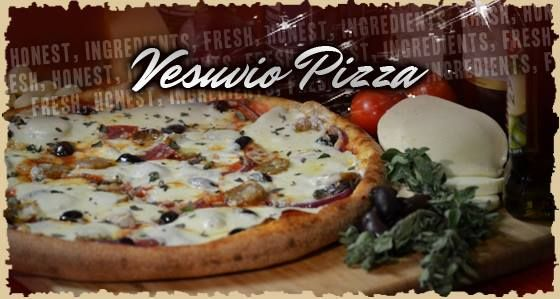 From Flipper's Pizzeria.  I just know I'd love this.  Vesuvio Pizza.