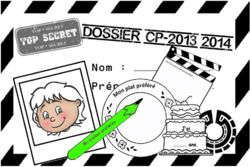 Je me présente, Cp, Ce1, cycle 2, rentrée, scolaire, dossier agent secret