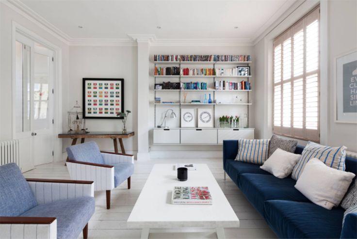 Un apartamento minimalista en Londres
