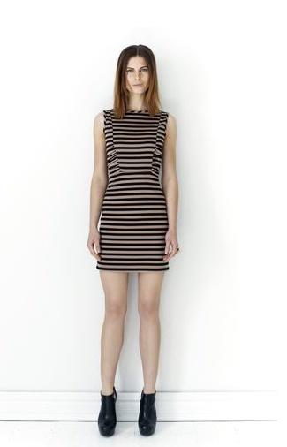 Legging It Stripe Dress - too hot to handle.