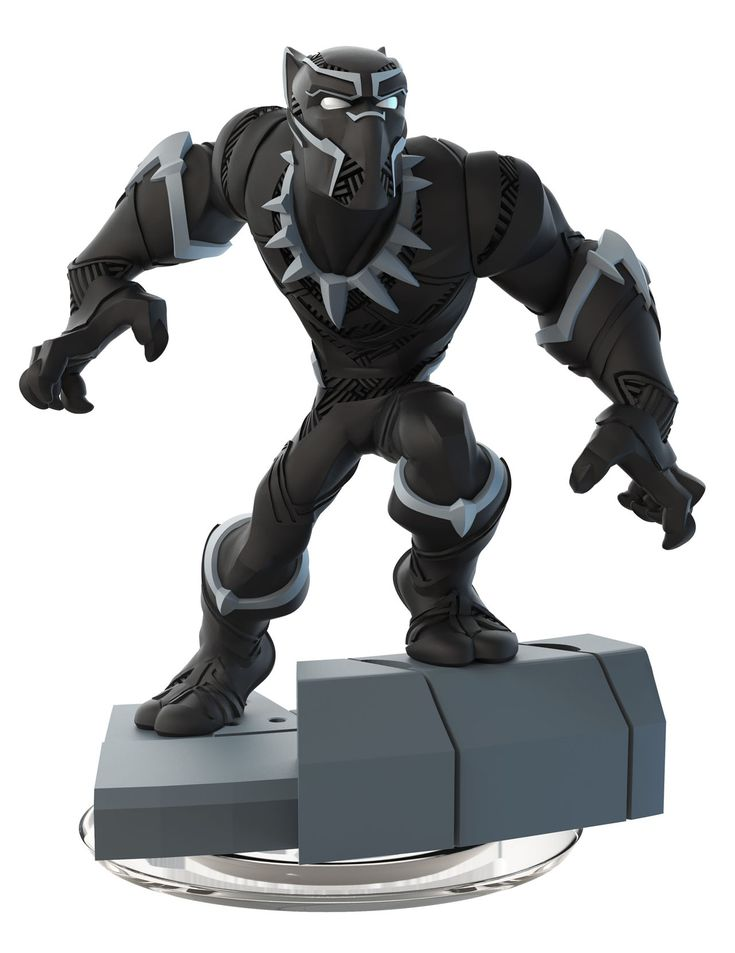 Disney Infinity 3.0 Figure: Black Panther (Wave 4, Marvel Battlegrounds Play Set, Sold Separately)