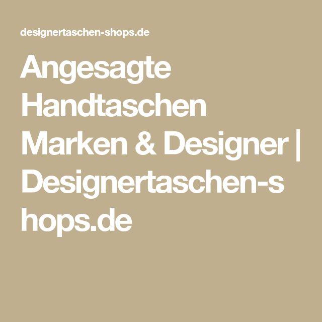 Angesagte Handtaschen Marken & Designer | Designertaschen-shops.de